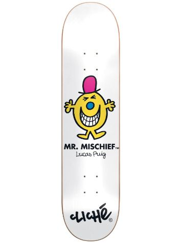"Cliche Puig Mr. Men R7 8.125"" Deck"