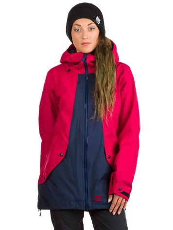 Sweet Protection Chiquitita Jacket rubus red / midnight blue / rot Gr. M
