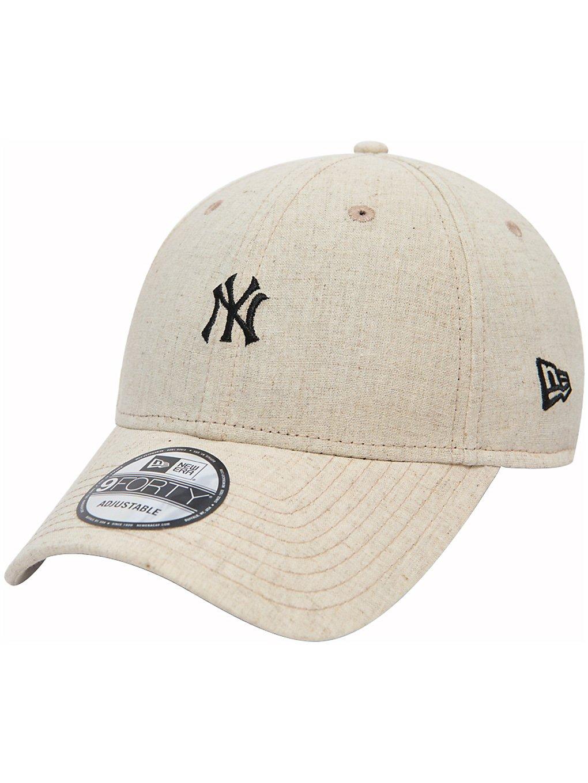 New Era Linen Small Logo Cap Preisvergleich