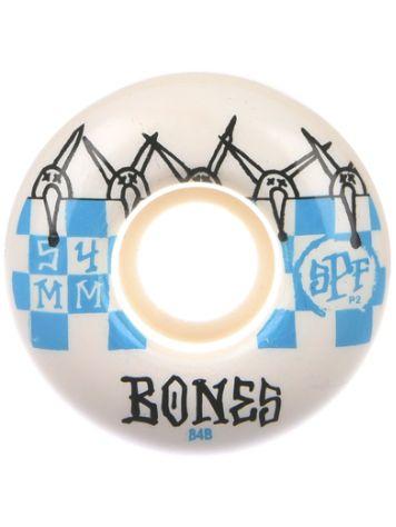 Bones Wheels Spf Tiles 84B P2 54mm Ruedas