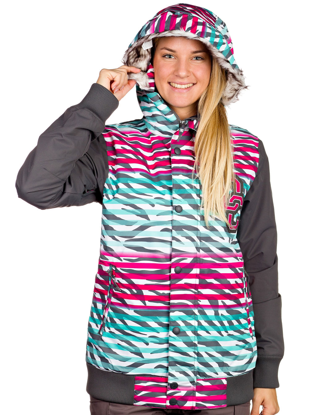 Chaqueta dc snow mujer