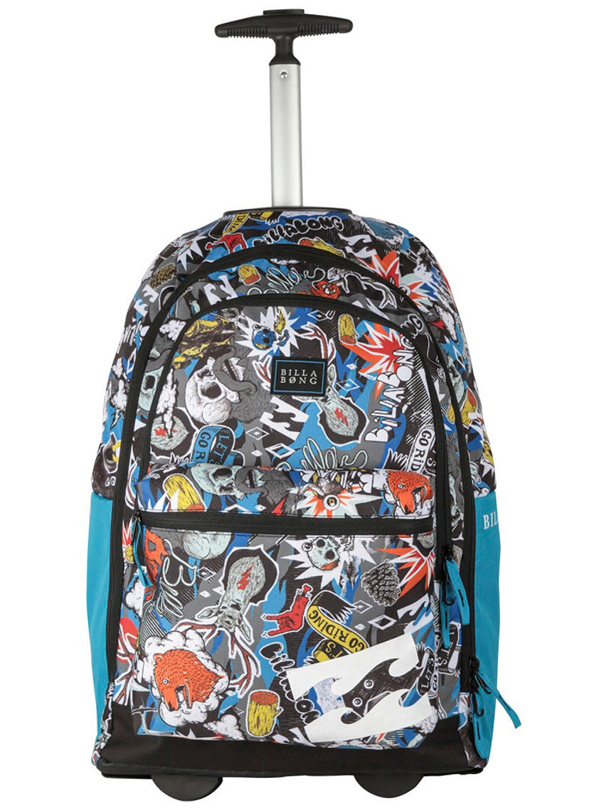 Buy Billabong Walk N Roll Wheelie Backpack Boys online at blue ...