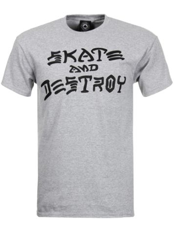 Thrasher Skate And Destroy Camiseta