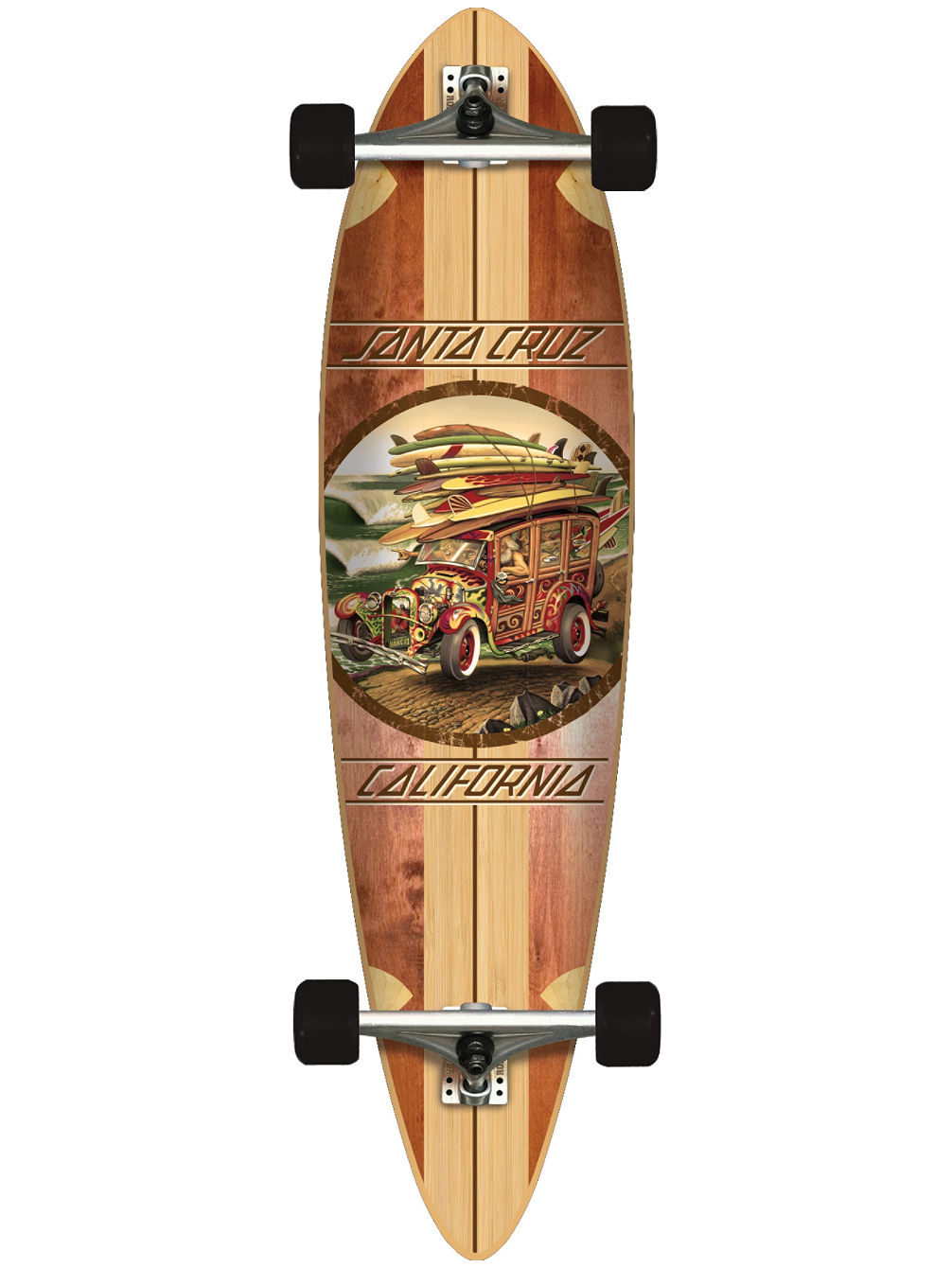 "Cali Cruiser Pin Tail 9.6"" x 39"" Complete"