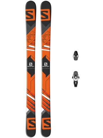 Salomon NFX JR 130 + N L7 2015 Youth Freeski-Set