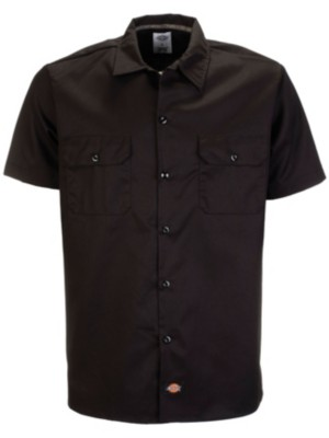 Dickies Slim Shirt black Gr. XXL