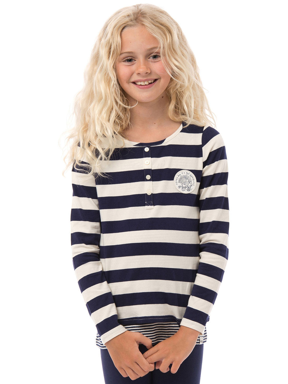 ls pics girls Suzie Stripe T-Shirt LS Girls