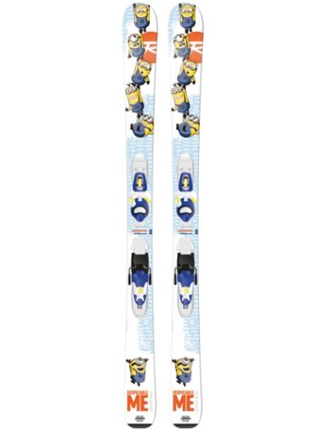 Rossignol Minions 116 + Xelium Kid 45 B76 Blue/Yel 2016 Youth Freeski-Set