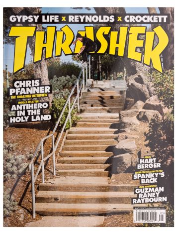 Thrasher Trasher Issue 2015 May