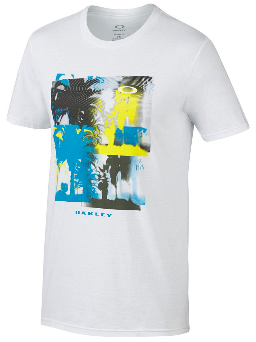 Buy oakley cruise t shirt online at blue for Start an online t shirt business at zero cost