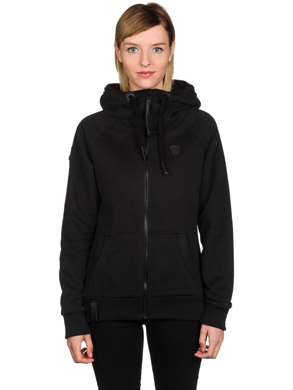 naketano black brazzo ii zip hoodie online kaufen bei blue. Black Bedroom Furniture Sets. Home Design Ideas
