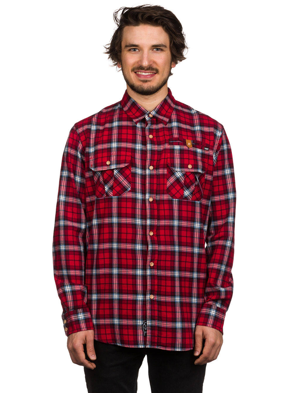 Such a great quality shirt (really nice flannel material!) but the sizing is way off. I used their size chart measurements in the picture of product and with reviews from other buyers to buy .