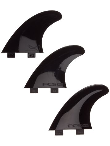 FCS M5 IFT Black Softflex Tri Fin set