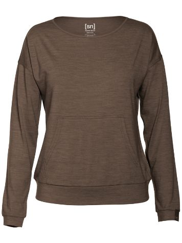 super.natural Voyage Slash Neck Sweater