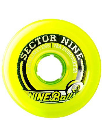 Sector 9 Top Shelf Nineballs 78A 72mm Rollen