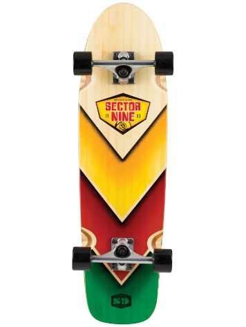 "Sector 9 Bamboozler 31.5""x 8.5"" Complete"