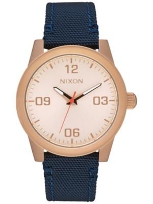 Nixon The G.I. Nylon rose gold / navy Gr. Uni