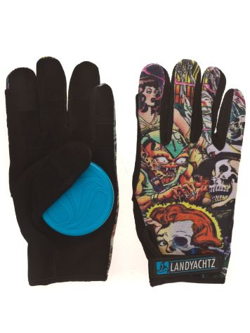 Landyachtz Freeride Comic Book Slide Gloves