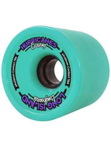 Long Island Longboards Carving Turquoise 78A 69x55mm Wheels