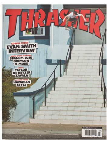 Thrasher Trasher Issue Februar