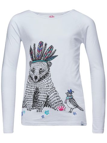 Animal Billie Bear T-Shirt LS Girls