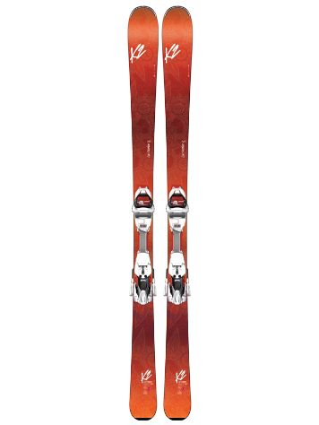 K2 Luv Machine 74Ti Erc 11 Tcx Light Quikcl Freeski-Set