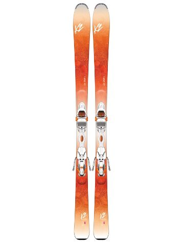 K2 Luv Struck 80 Er3 10 Tcx Light Quikclik Freeski-Set