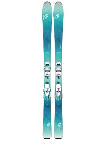 K2 Luv Sick 80Ti Erc 11 Tcx Light Quikclik Freeski set