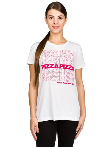 A.Lab Girls Pizza Repeat Camiseta