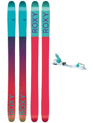 Roxy Shima 90 168 + Xpress11 2017 Freeski-Set