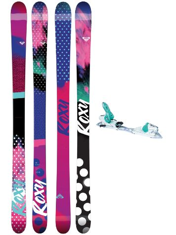Roxy Ily 164 + Xpress11 2017 Freeski-Set