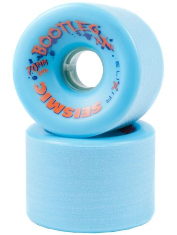 Seismic Bootleg 84A 70x50mm blue Wheels