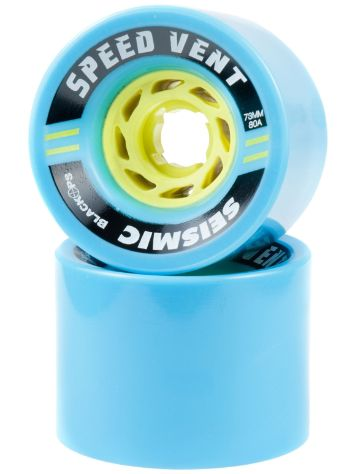 Seismic Speed Vent 80A 73x54mm blue Wheels