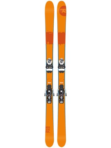 Rossignol Scratch 174 + SPX12 Dual WTR B90 Black/ White 2017 Freeski set