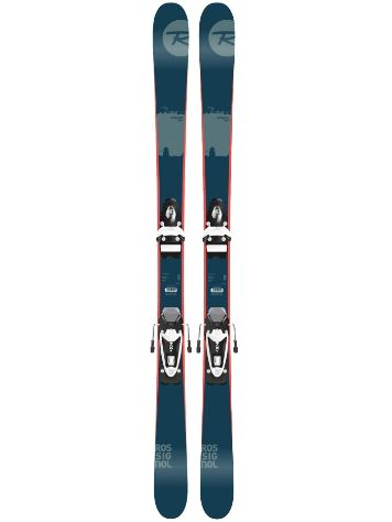 Rossignol Scratch Pro Jr 158 + NX JR B83 Black/White 2017 Youth Freeski-Set