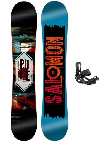 Salomon Pulse 145 + Pact 2017 Snowboard Set