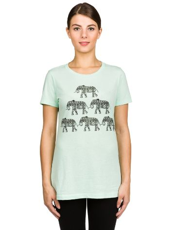 Empyre Girls Elephant Pyramid Camiseta
