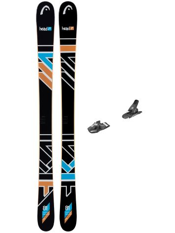 Head The Jr. Caddy 151 SW + SX 7.5 90mm 2017 Youth Freeski-Set