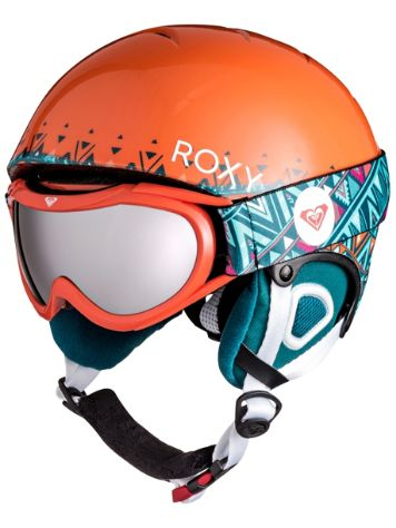 Roxy Misty Pack Helmet and Goggles Girls