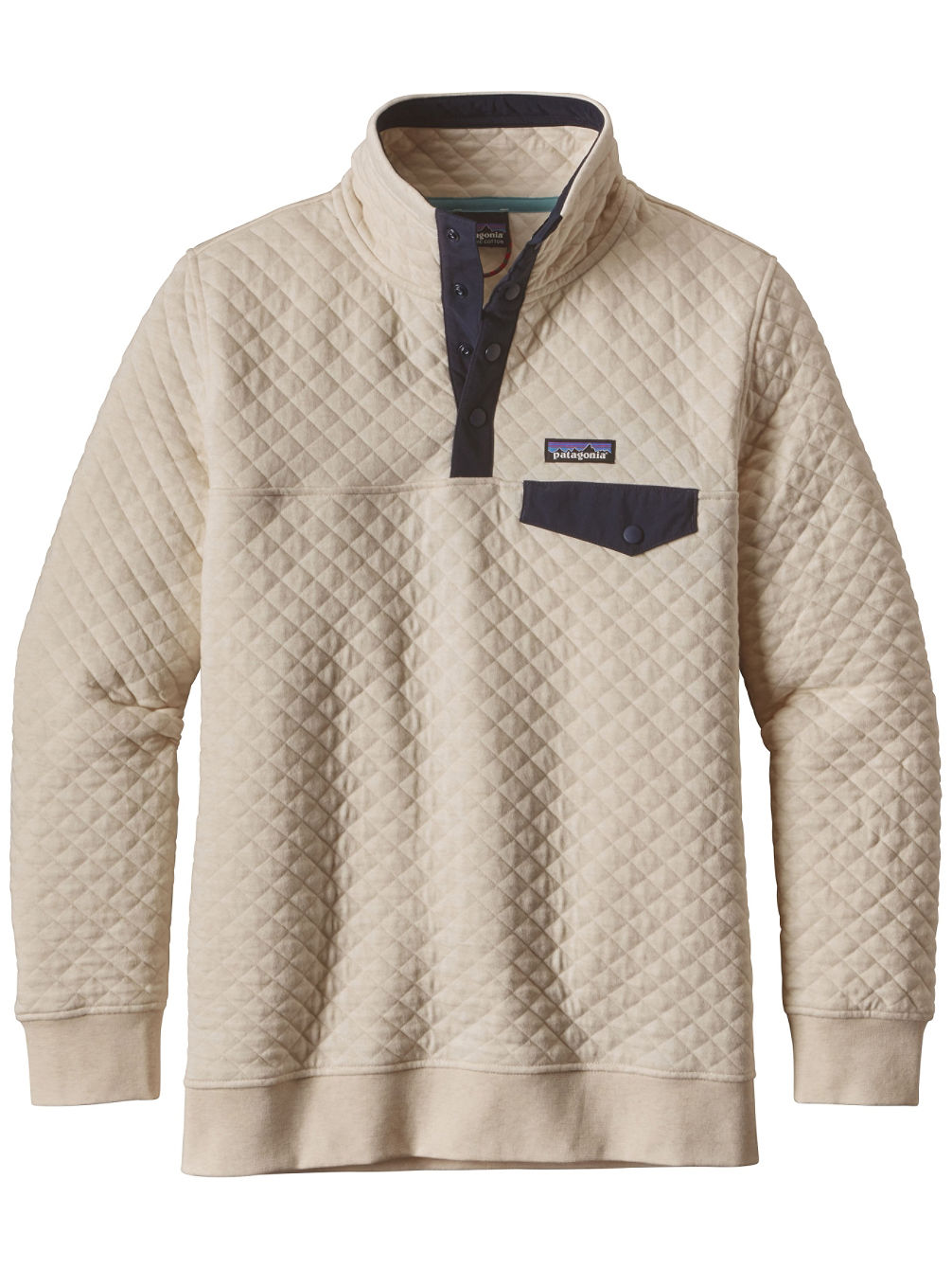 Buy Patagonia Cotton Quilt Snap T Sweater Online At Blue