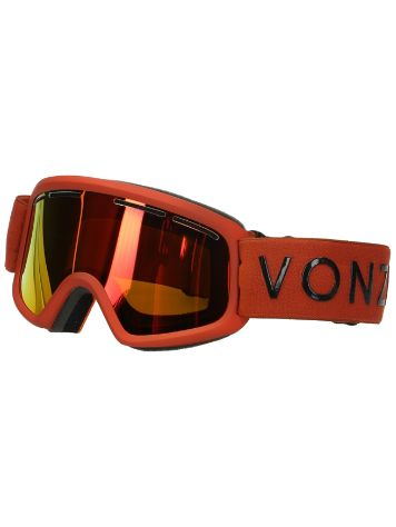 VonZipper Trike Burnt Orange Youth Máscara niños