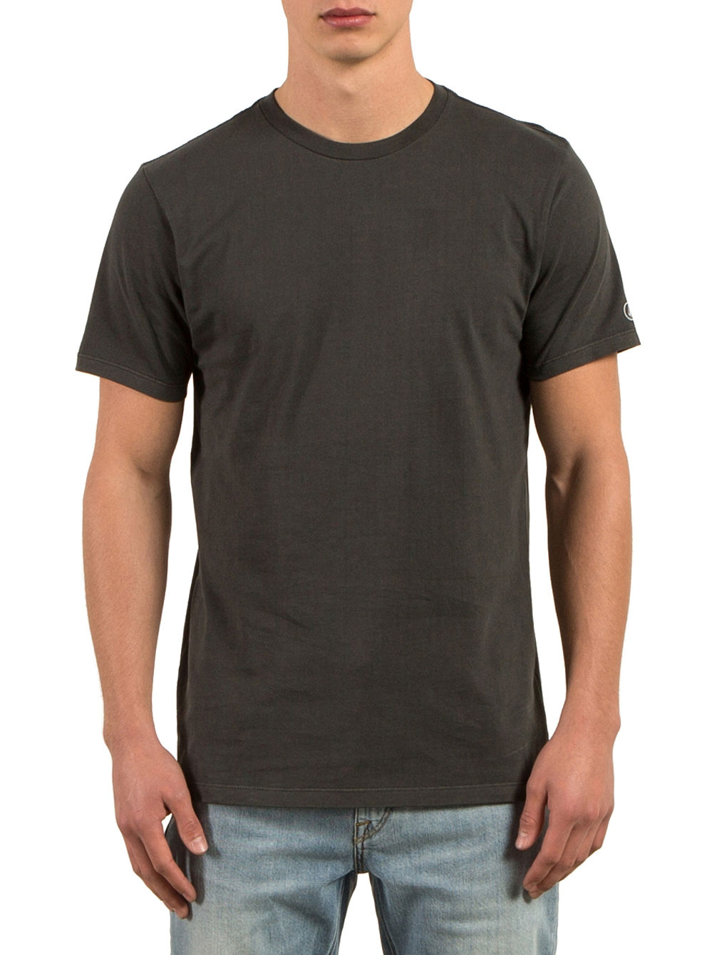 Pale Wash Solid T-Shirt