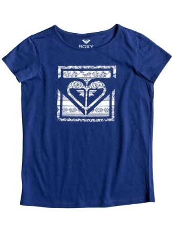 Roxy Galaxy Light Tropical Wax Heart T-Shirt