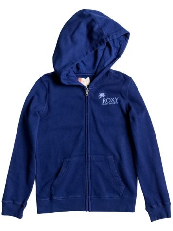 Roxy Tropical Fishing Solid Zip Hoodie Girls