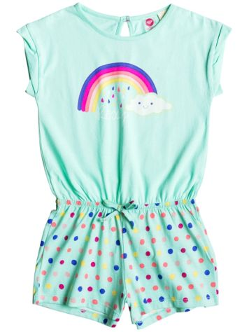 Roxy Rainbow Dots Knit Romper Girls