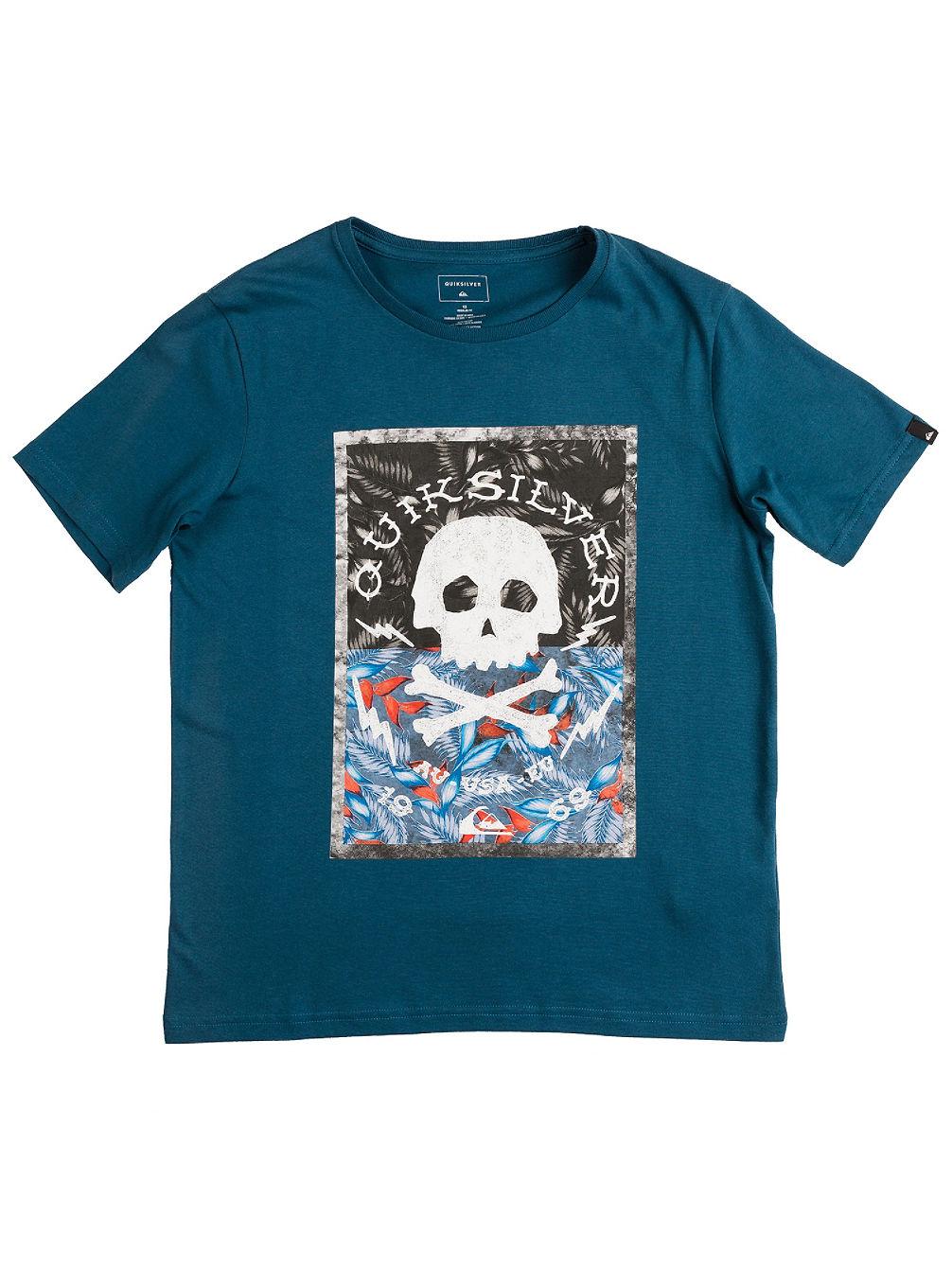 quiksilver danger beach t shirt jungen online kaufen bei blue. Black Bedroom Furniture Sets. Home Design Ideas
