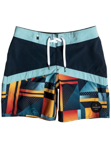 Quiksilver Check Crypt Vee 15 Boardshorts Boys
