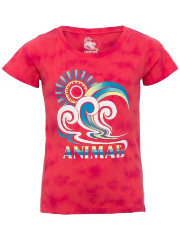 Animal Pop Wave T-Shirt Mädchen