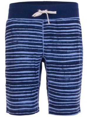 super.natural Comfort Printed Shorts water stripe print / ocean Gr. M