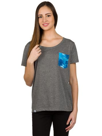 Blue Tomato BT Camo Pocket Camiseta